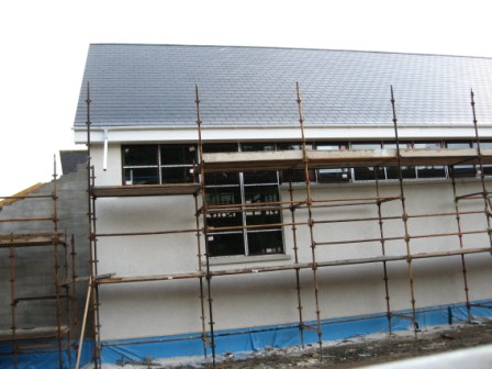 Building work commenced on our new church hall complex on Monday 13th April 2008. If all goes to plan the project should be completed by the end of the year.
