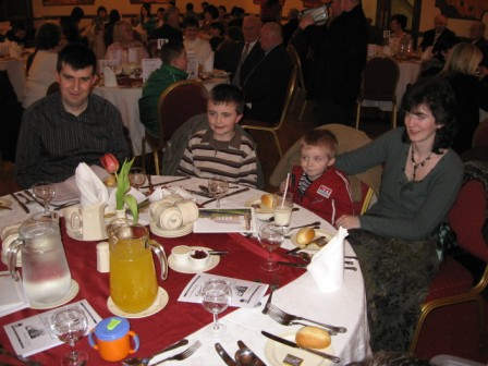 A special 50th Anniversary Dinner was held in the Magherabuoy House Hotel (Portrush) on Friday 9th February 2007. Many past members and friends joined with the congregation at this special event.